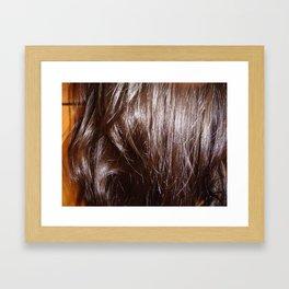 Soft&Brown Framed Art Print