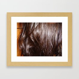 Soft&Brown Framed Art Print