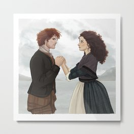"Outlander ""The Frasers"" Metal Print"