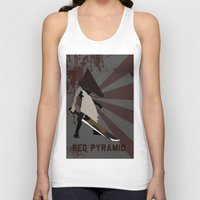 silent hill Tank Tops featuring Pyramid Head - Silent Hill by BatSpats