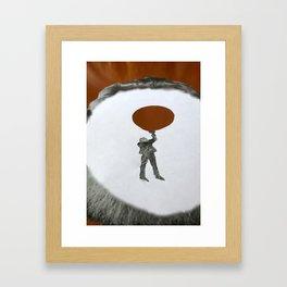 Wood Balloon Framed Art Print