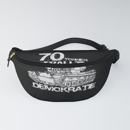 Tank soldiers outfit Legendary Leopard tank  Fanny Pack