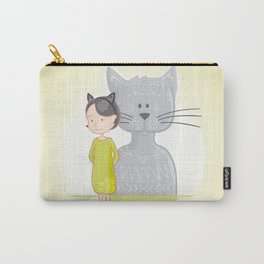 Cat's spirit Carry-All Pouch