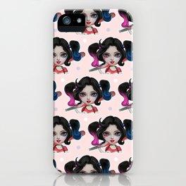 Kiddo harley quinn iPhone Case