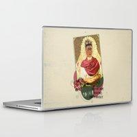 frida kahlo Laptop & iPad Skins featuring Frida Kahlo by Selman HOŞGÖR