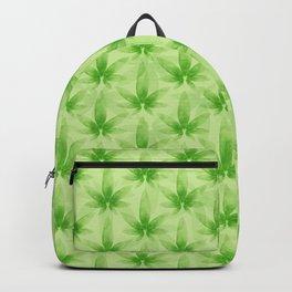 Marijuana leaf pattern Backpack