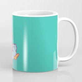Hits like a girl Coffee Mug