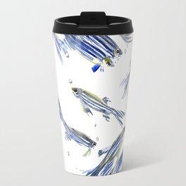 Fish art Danio zebrafish Travel Mug