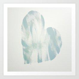 blue, Love Art Print