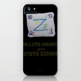 zissou flag from lifeaquatic with steve zissou iPhone Case