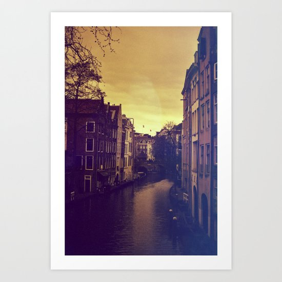 Utrecht Art Print