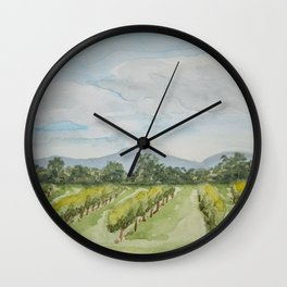 Pennsylvania Orchard Wall Clock