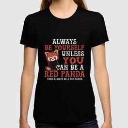 Funny Novelty Gift For Red Panda Lover T-shirt