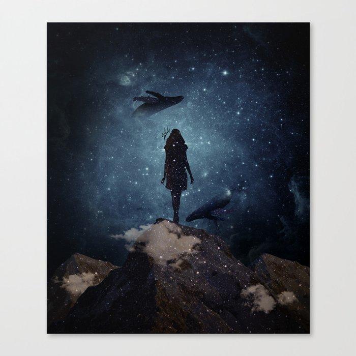 Deep dreams Canvas Print