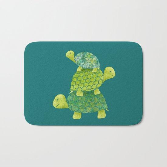 Turtle Stack Bath Mat