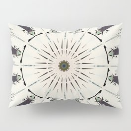 Concentric Earth Tones Abstract Pillow Sham