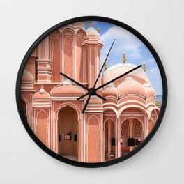 jaipur, the pink city Wall Clock