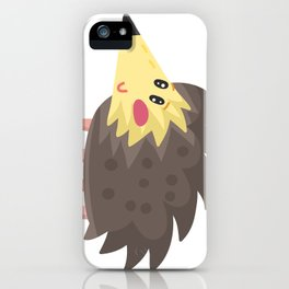 Cute Hedgehog iPhone Case
