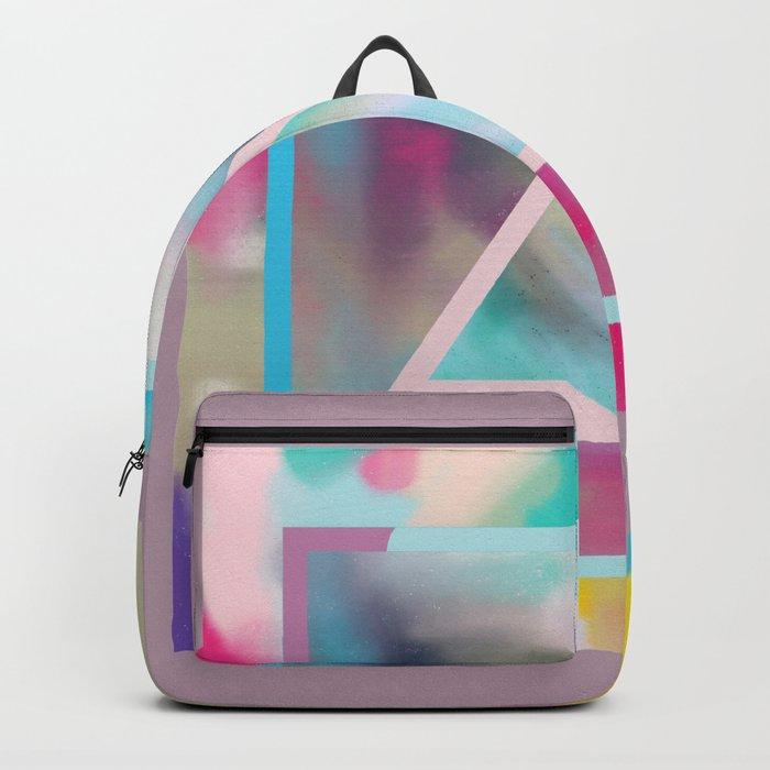 Rose Triangle Manifestation Backpack
