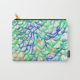 Preening Peacock Bright Carry-All Pouch