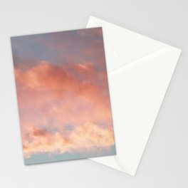 Pink and Blue Sky Over Newport Rhode Island Stationery Cards