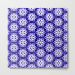 Purple Passion Pattern 4 Metal Print