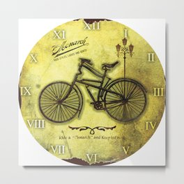 Old Byciclete Metal Print