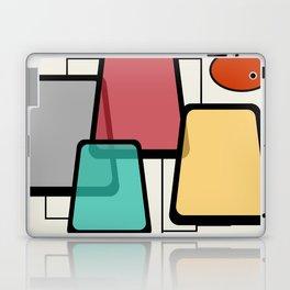 Mid-Century Modern Art Landscape 1.1 Laptop & iPad Skin