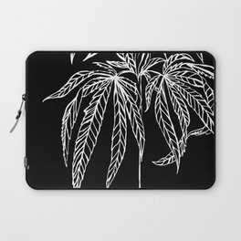 Reverse Cannabis Illustration Laptop Sleeve