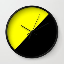 Anarcho Capitalism Wall Clock