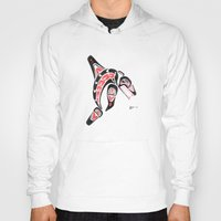 killer whale Hoodies featuring Killer Whale Number 2 by The Marko