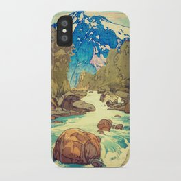 The Walk to Hokodoyama iPhone Case
