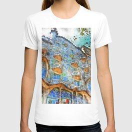 Barcelona, Casa Batllo T-shirt