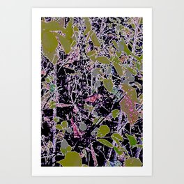 Berry Infusion  Art Print