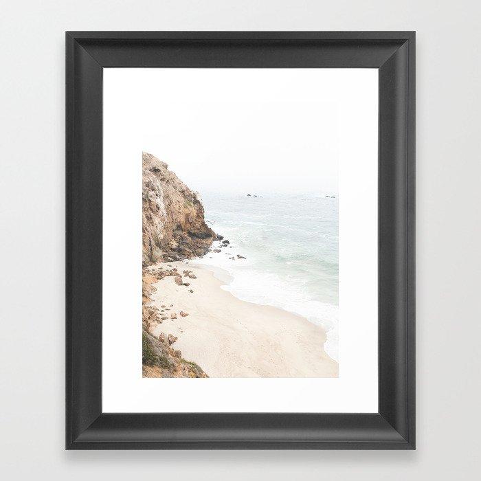 Malibu California Beach Gerahmter Kunstdruck