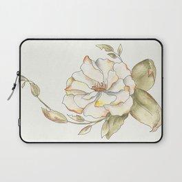 Shrub Rose (white) Laptop Sleeve