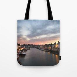 Harbour Sunrise Tote Bag