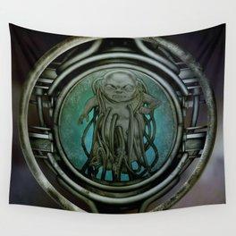 """Astrological Mechanism - Aquarius"" Wall Tapestry"