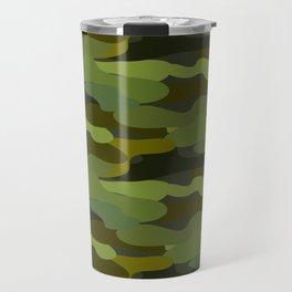 Khaki camouflage Travel Mug