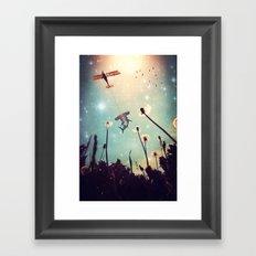 Flying Lessons Framed Art Print
