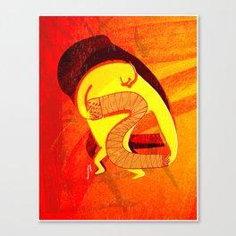 Las Hogueras de Triana Canvas Print