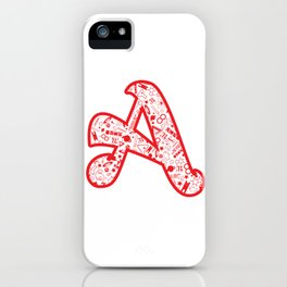 Scarlet A - Version 2 iPhone Case