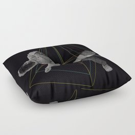 Future doesn´t exists Floor Pillow