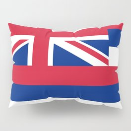 Flag of Hawaii - Authentic High Quality image Pillow Sham