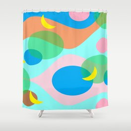 Moons Shower Curtain