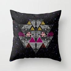 Galaxy trance  Throw Pillow
