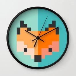 Zorro pixel Wall Clock