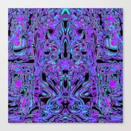 I'm looking at you (mirror side) Canvas Print