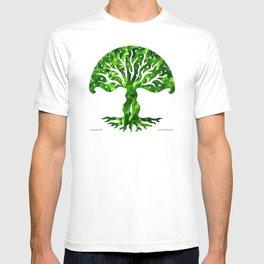 viviána tree of life, green gallery mandala T-shirt