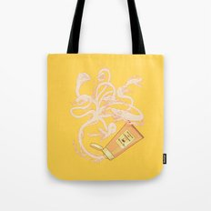 Hydrating lotion Tote Bag